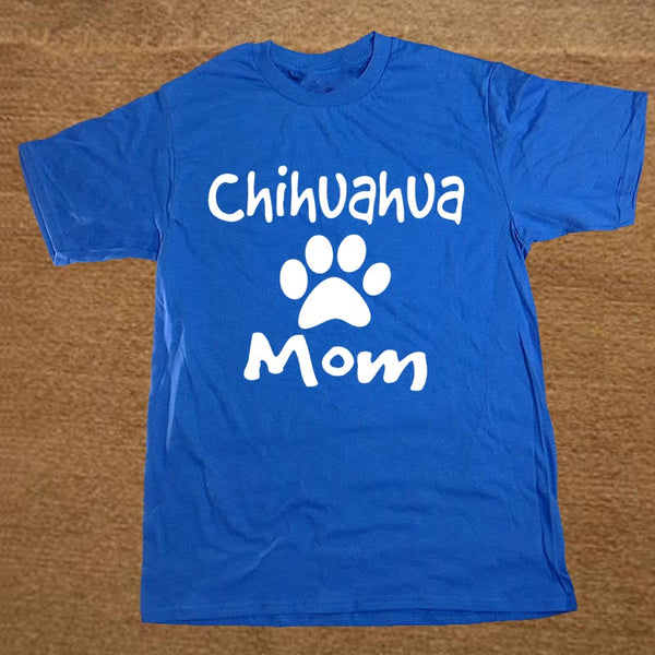 Chihuahua Words Printed Design Men T-Shirt
