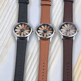 Retro Owl Design Unisex Leather Strap Analog Quartz Watches