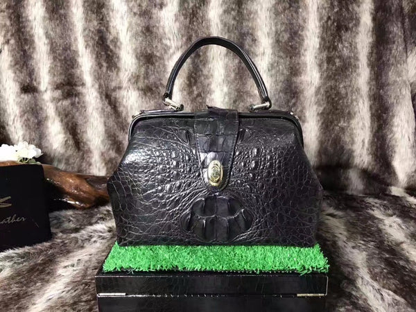 Luxurious Genuine Crocodile skin leather Women's Bag