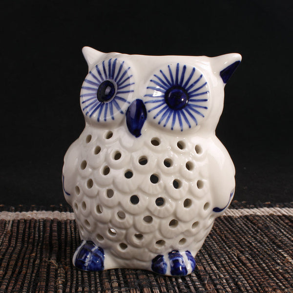 Owl Ceramic Aromatic Decorative Oil Burner