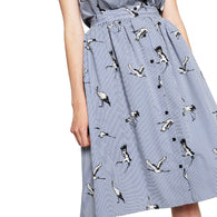 Bird Patterned Skirt