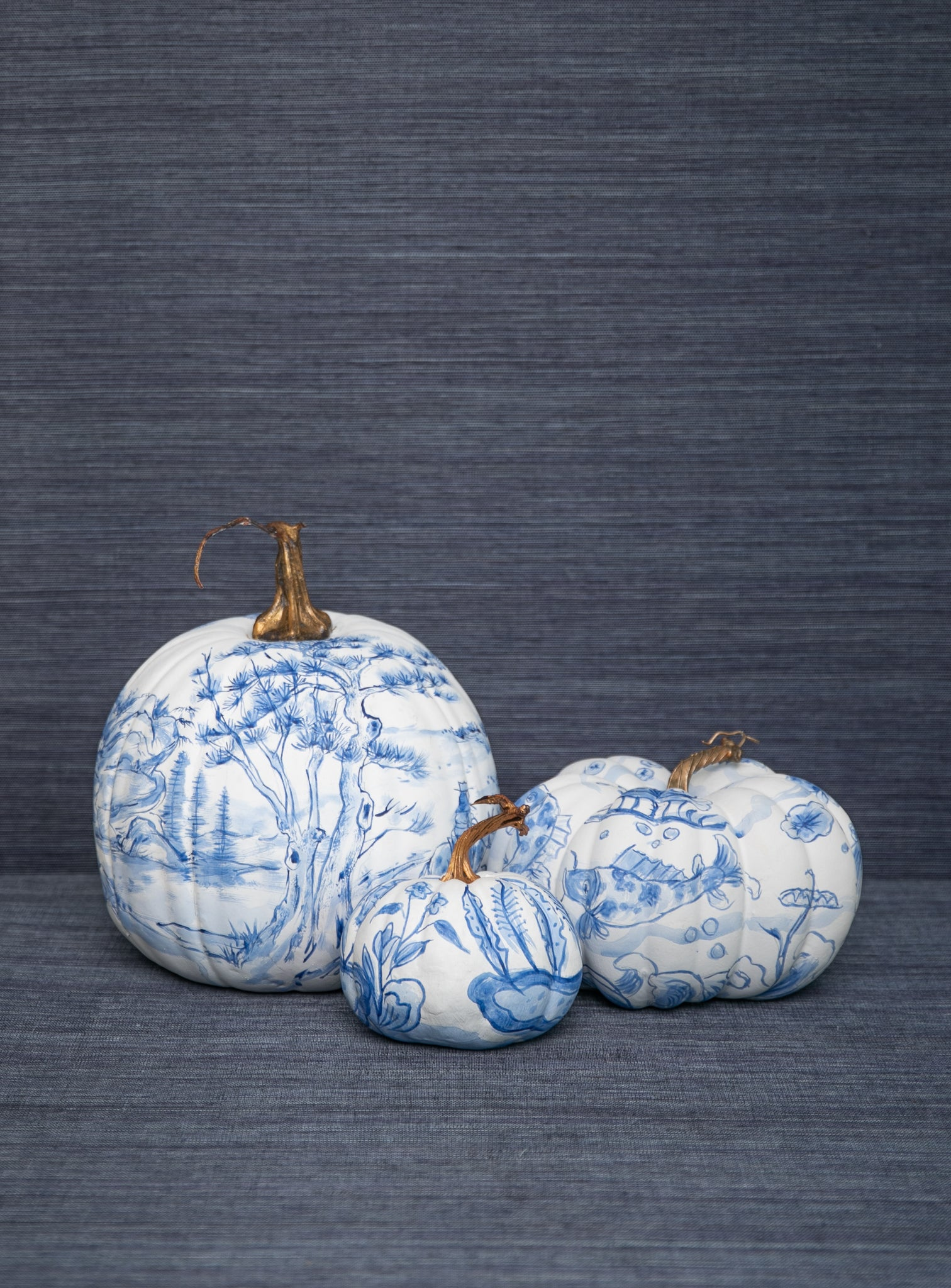 Chinoserie Pumpkins