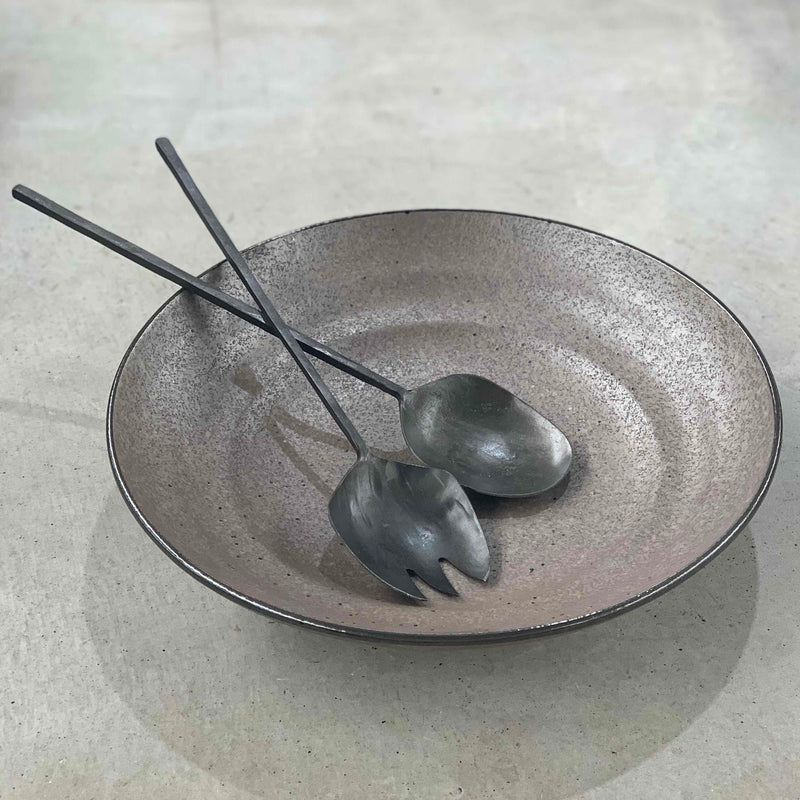 Flat Base Serving Bowl
