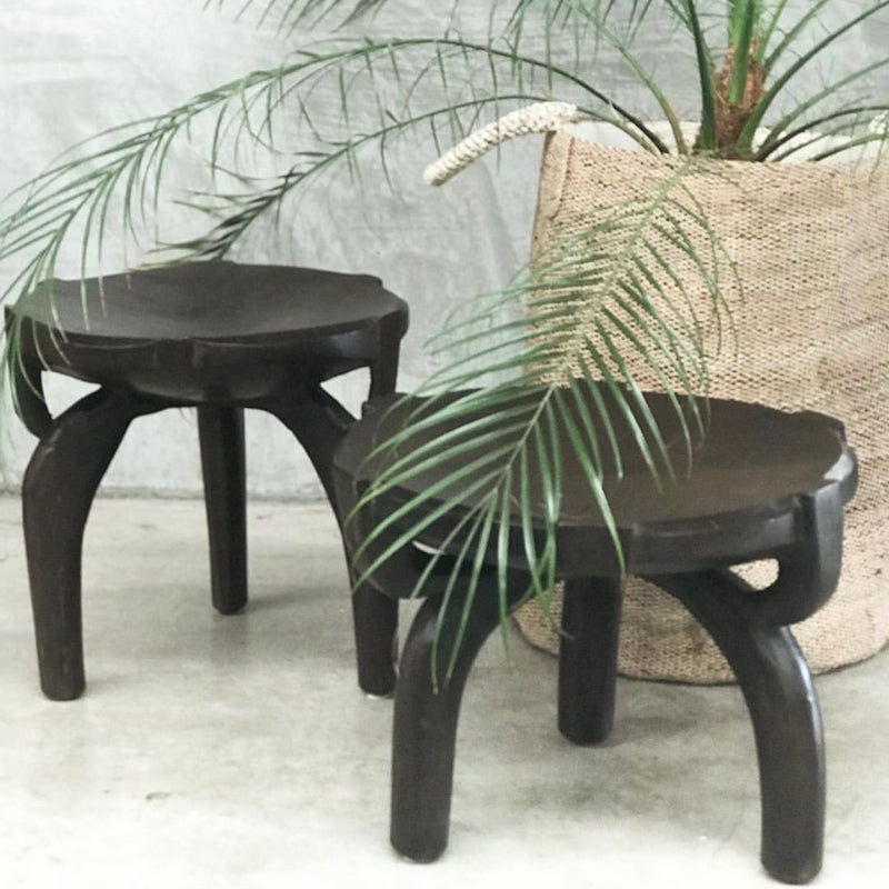 Sugar Grinder Stool - Black
