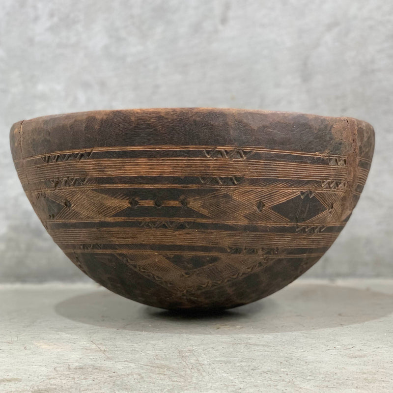 Toureg Med wood bowl