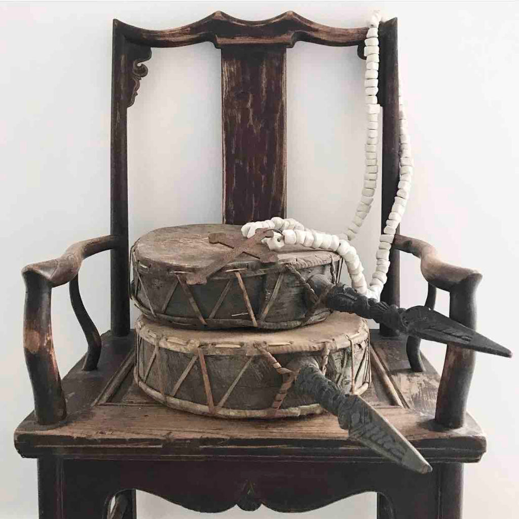 Antique High-Hat Chair