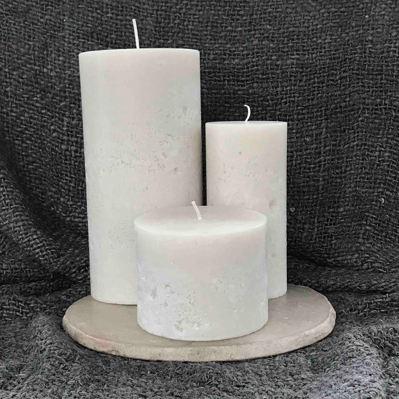 Small Cathedral Candles - Ivory
