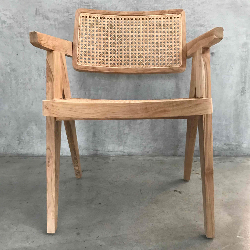 Leos Rattan Squared off Chair