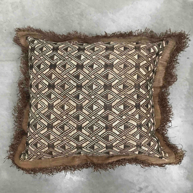 Sherpa 50 cm Cushion  - Charcoal