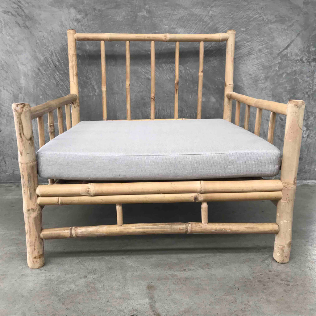 Kusen Bamboo Occasional Chair Natural