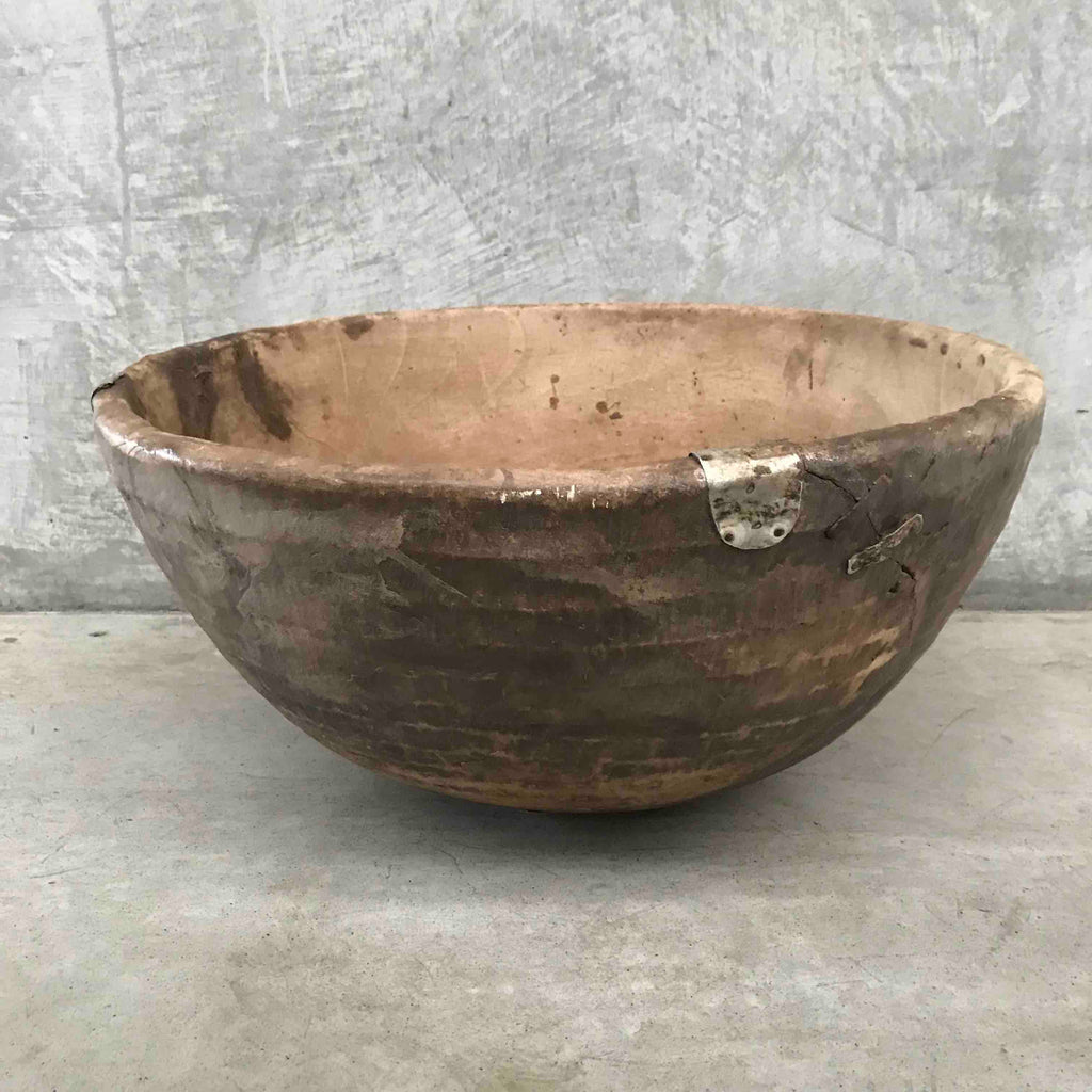 Fulani XL wood bowl