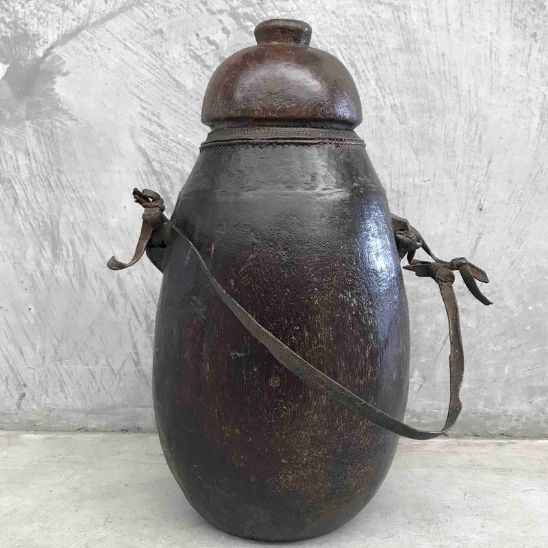 Leather Ethiopian Milk Jug