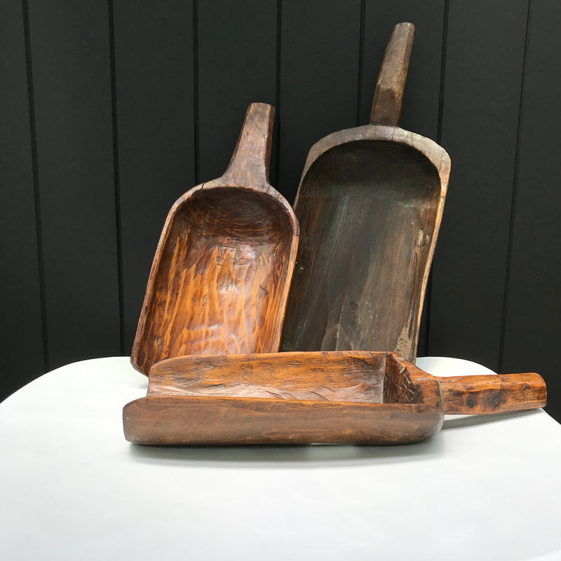 Wooden Rice Scoops