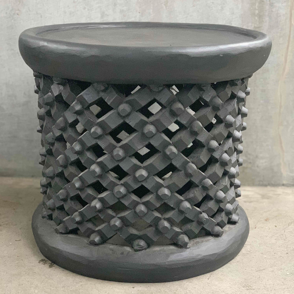 Black Bamileke Table