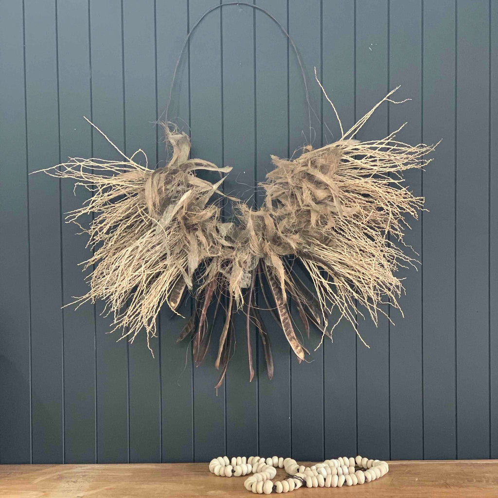 Pod and Husk Wall Hanging