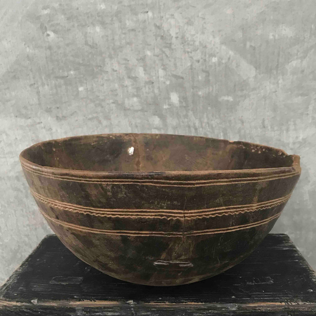 Fulani Wood Bowl Small