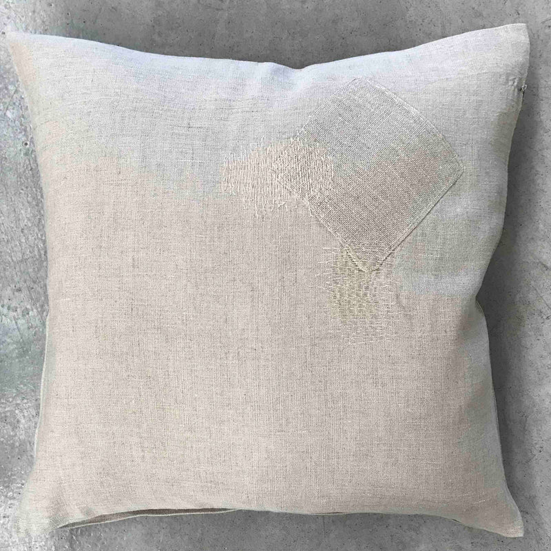 Patch Cushion Natural