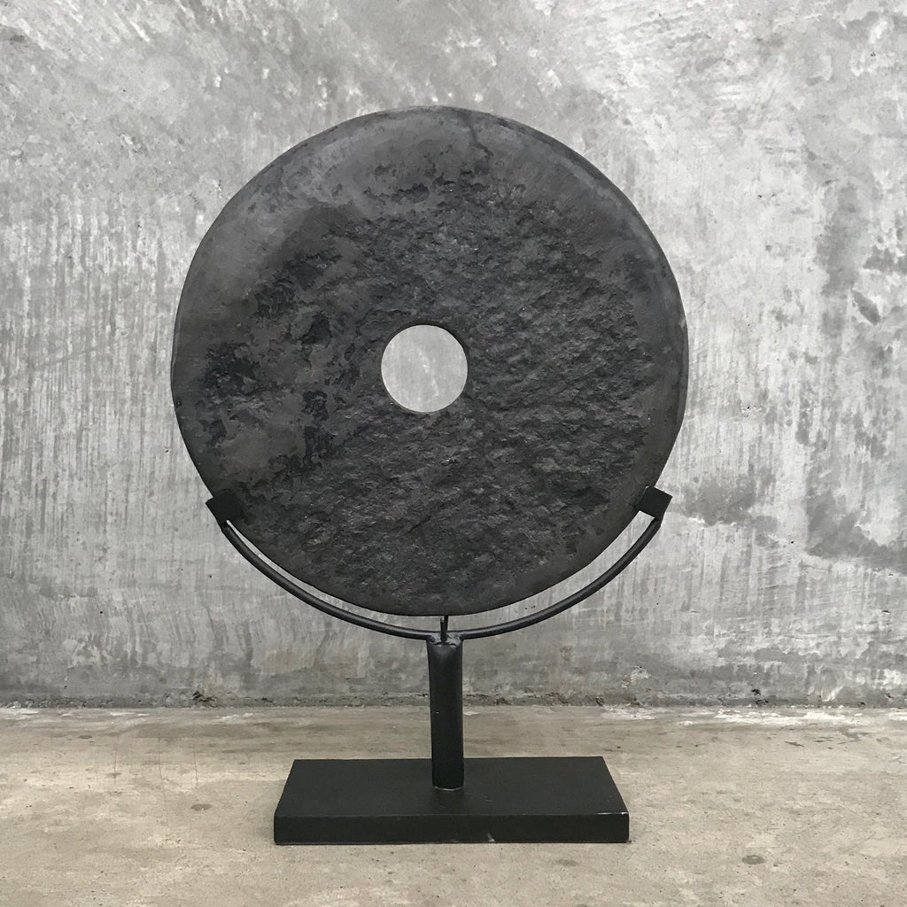 Black stone disc med