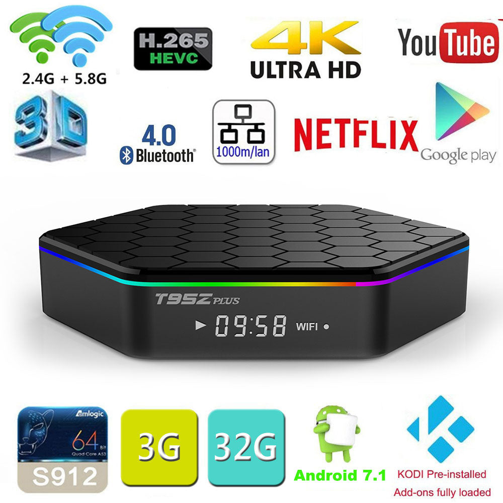 Smart TV BOX – Android 7.1 OS
