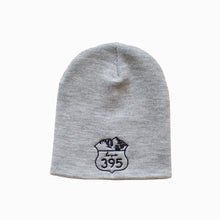 Knit Logo Beanie Cap - Heather Gray