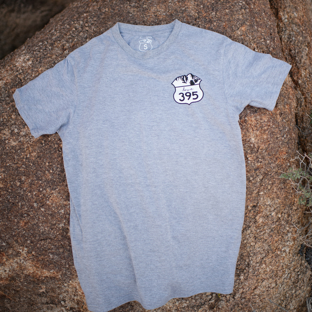 Men's Logo Tee (Light Gray)
