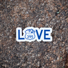 "4"" LOVE sticker"