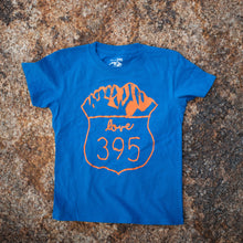 Kid's Logo Tee - Blue