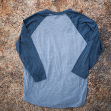 Baseball Tee 3/4 Sleeve (gray/navy)