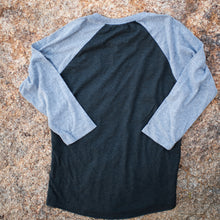 Baseball Tee 3/4 Sleeve (black/gray)