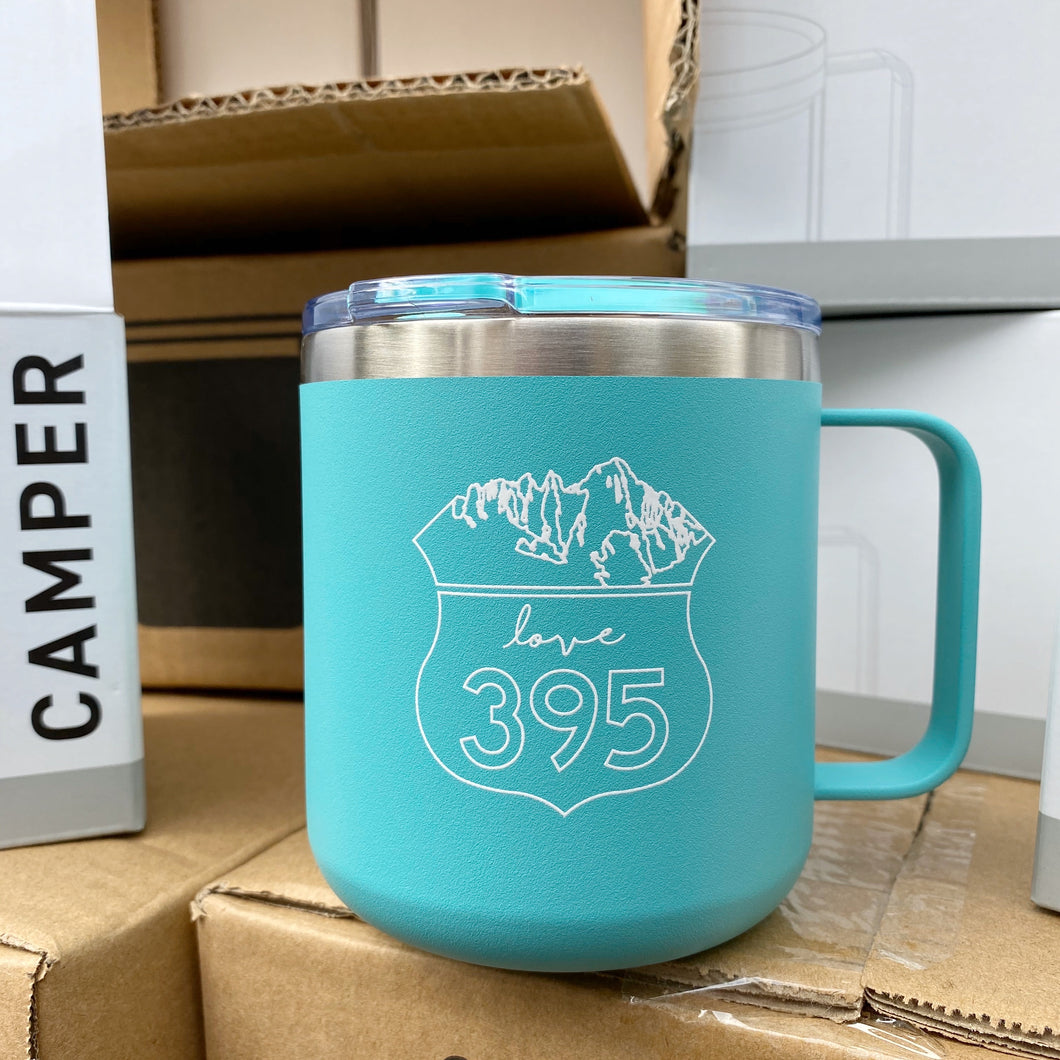 Camper Insulated Mug, Mint