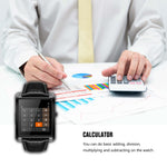 Novateur Smart Watch with Bluetooth calls, pedometer, Heart rate and notifications - Novateur Solutions