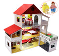 Novateur Mansion Dollhouse, 3 Floors with Lights and furniture - Novateur Solutions