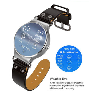RY17 Smart Watch {Android 5.1} Bluetooth 4.0 GPS Wifi Compatible with IOS Android System - Novateur Solutions