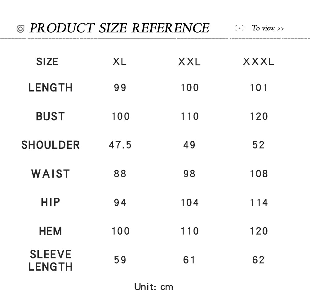 size chart form