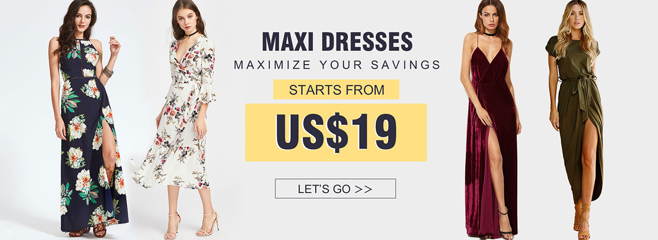 Shop Chicloth with black & white maxi dresses, off the shoulder maxi dresses, lace maxi dresses for any occasion. Take your daily look to new lengths with must have long maxi dresses.