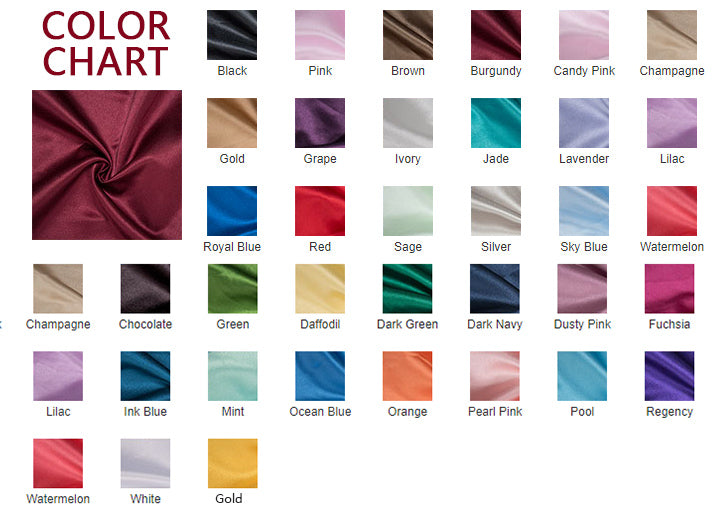 chicloth color chart