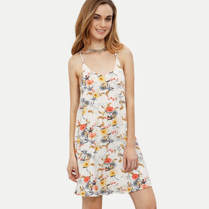 Chicloth Summer Time Floral Slip Dress