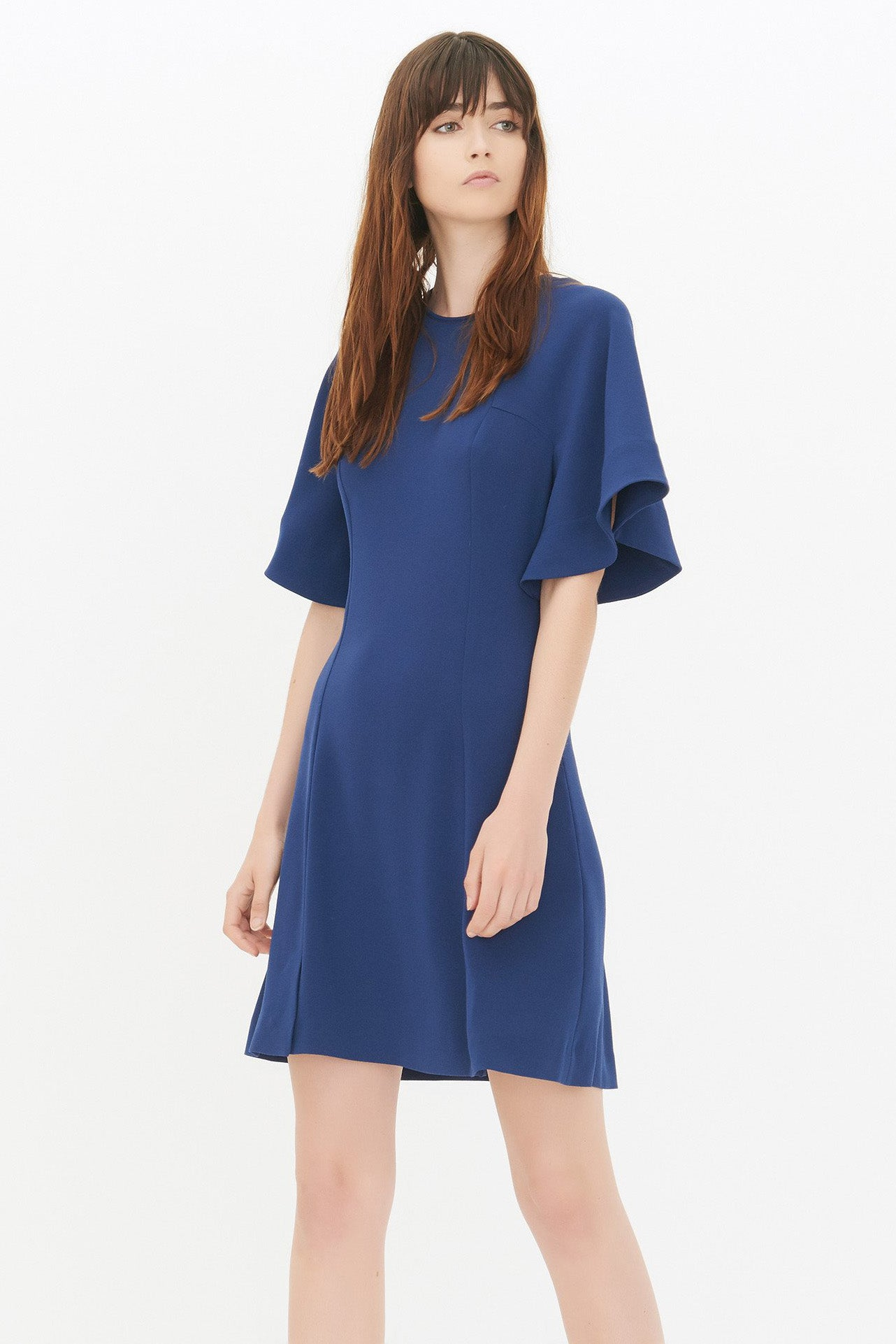 Chicloth Blue Loose Sleeve Princess Dress - Chicloth