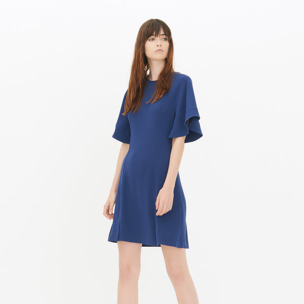 Chicloth Blue Loose Sleeve Princess Dress
