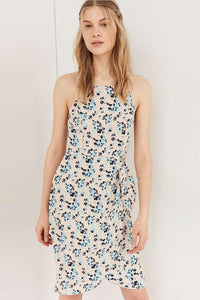 Chicloth Backless Floral Summer Dress-Chicloth