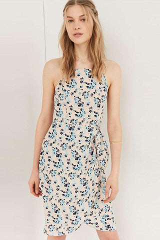 Chicloth Backless Floral Summer Dress - Chicloth