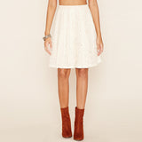 Chicloth White Lace Skirt