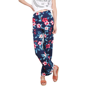 Chicloth Floral Long Straight Bottom
