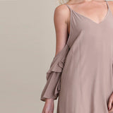 Chicloth Sexy Bare shoulder Slip Dress