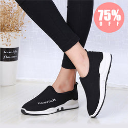 [Winter Fashion] Women's Wedges Closed Toe Wedge Heel Cotton Shoes