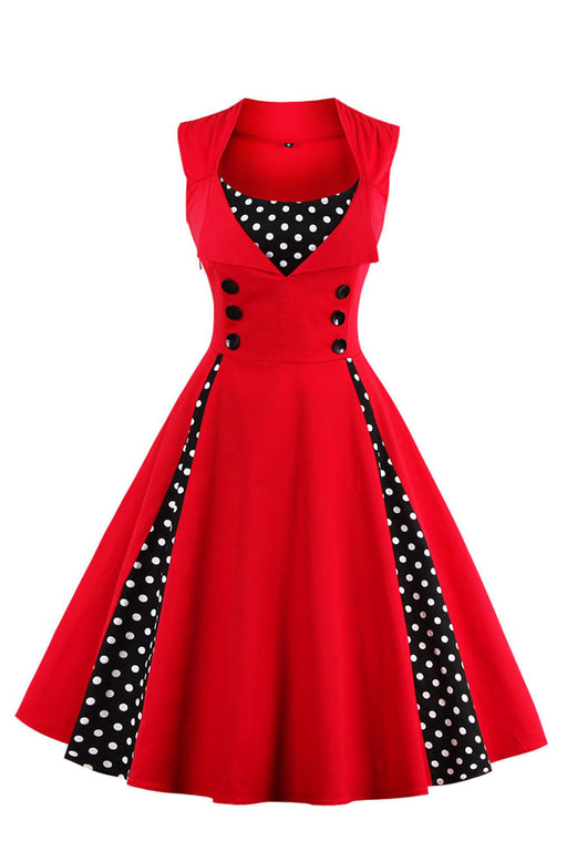 Chicloth Deserve the Best A-line Vintage Dress-Dresses-Chicloth