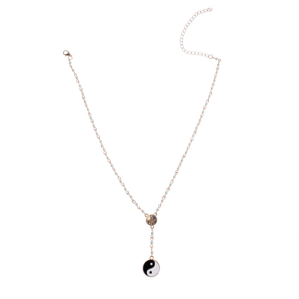 Chicloth Black Lace Necklace and Tai chi Necklace - Chicloth