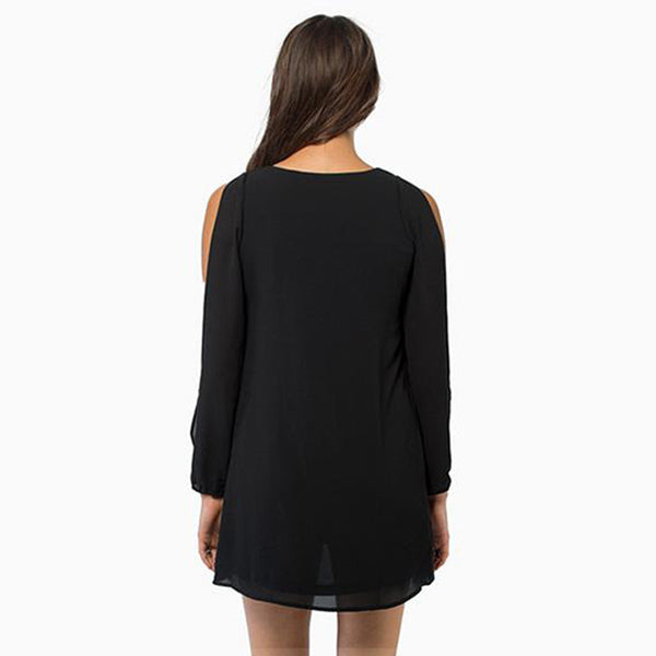 Chicloth Bare sleeve Long Top - Chicloth