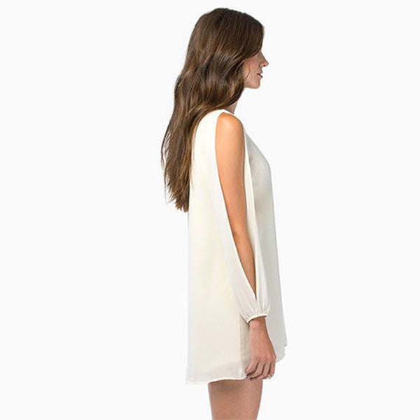 Chicloth Bare sleeve Long Top