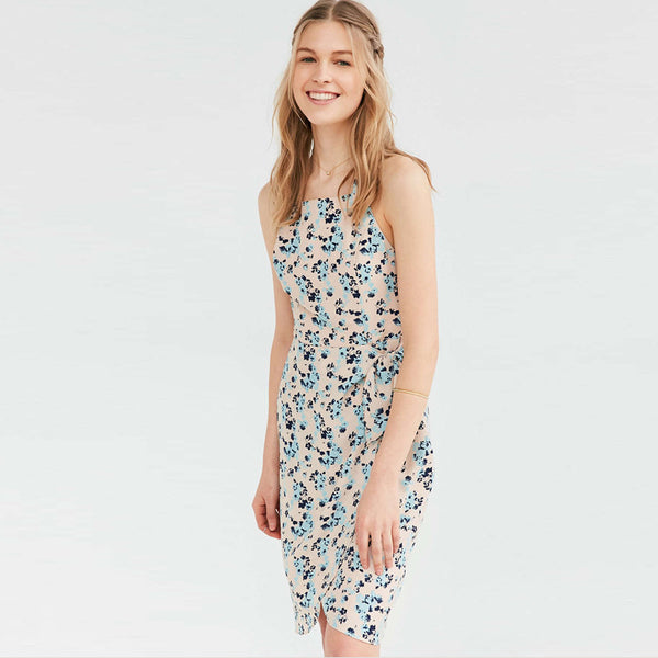 Chicloth Backless Floral Summer Dress